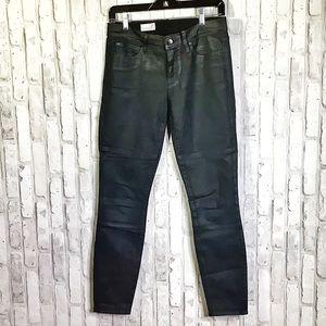 GAP 1969 True Black Coated Legging Jeans